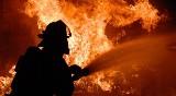 Tragiczny pożar w Łańcucie. W budynku znaleziono częściowo spalone zwłoki dwóch osób