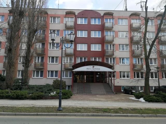 Hotel Kopernik w Toruniu.