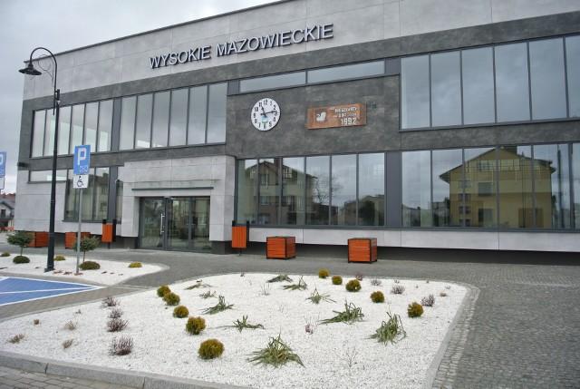 Budynek dworca w Wysokiem Mazowieckiem przeszedł gruntowny remont