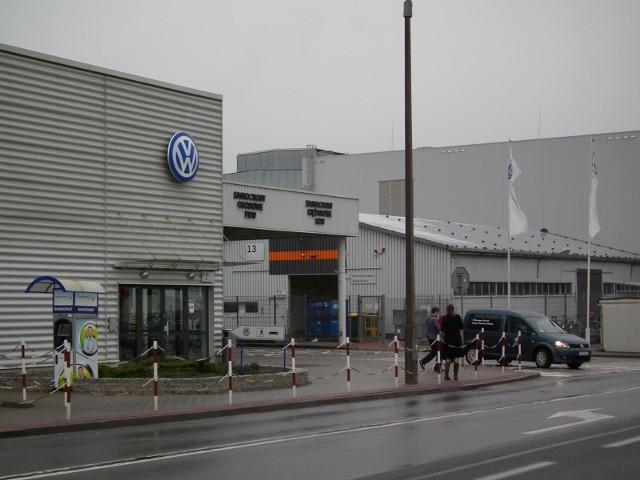 Wszystkie zakłady Volkswagen Poznań będą zasilane energią pozyskiwaną z farm wiatrowych.