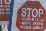 Stop likwidacji Polmosu Łańcut. Załoga i posłowie walczą