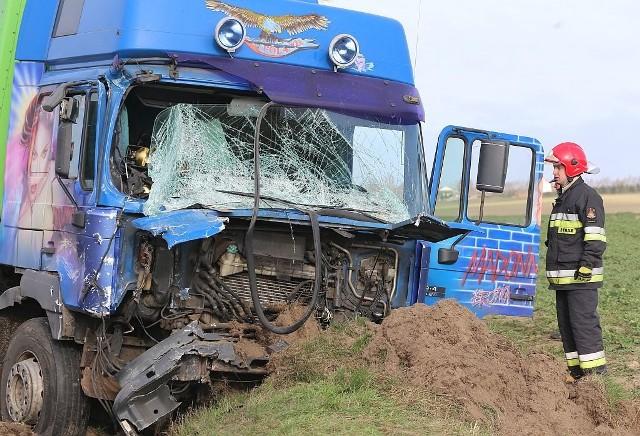 Do wypadku doszło na drodze wojewódzkiej 240 koło Tucholi na odcinku Żalno - Bladowo