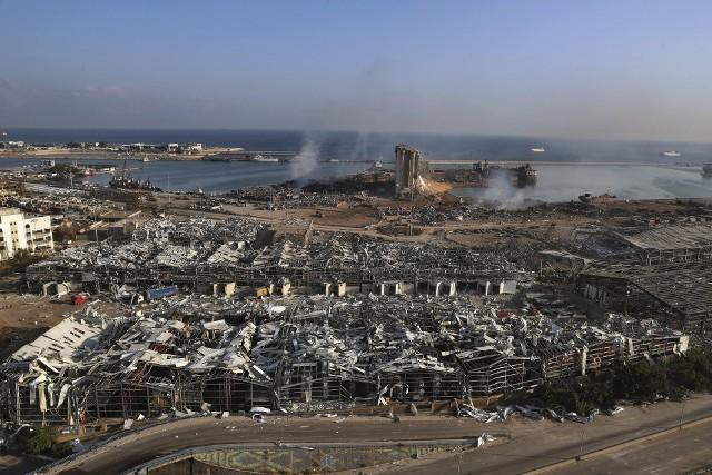 Eksplozja w Bejrucie. Aresztowano 16 osób w związku z wybuchem. Zatrzymano głównego zarządcę portu