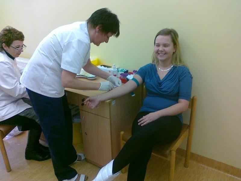 To druga zbiórka krwi w kluczborskim szpitalu.