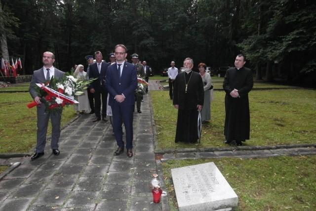 15 lipca w 78. rocznicę zbrodni hitlerowskich dokonanej na...