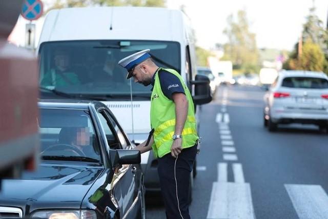 Pijany kierowca został zatrzymany w czasie policyjnej akcji na ul. Wojska Polskiego w Zielonej Górze.