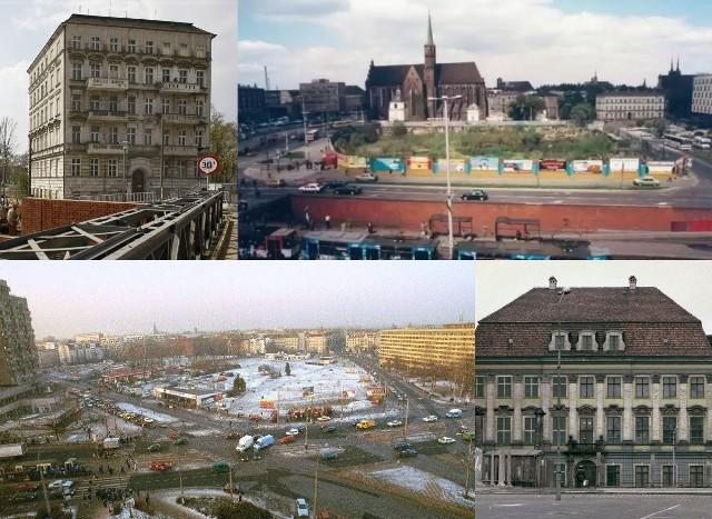 Wybraliśmy miejsca w stolicy Dolnego Śląska, które w minionych dziesięcioleciach przeszły gruntowną przemianę i to w większości przypadków dosłownie - z dziur w ziemi lub z ruin powstały nowoczesne budynki. Cześć z nich przeszła gruntowną metamorfozę. Na kolejnych slajdach pokazujemy, jak zmieniły się te miejsca.