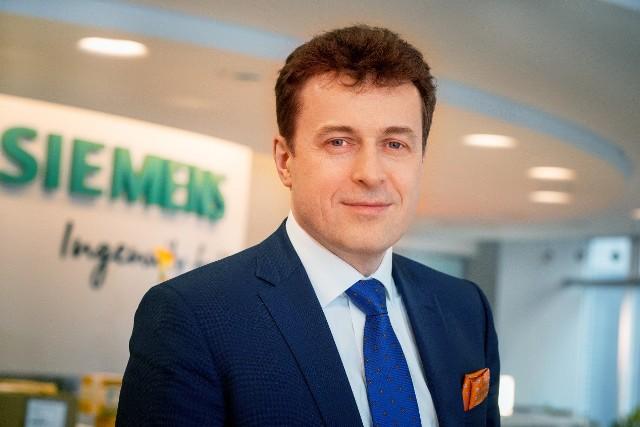 Krzysztof Kuniewicz, Dyrektor Zarządzający Siemens Finance.