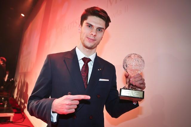 Aleksander Śliwka, siatkarski mistrz świata, sportowiec roku 2018 na Dolnym Śląsku