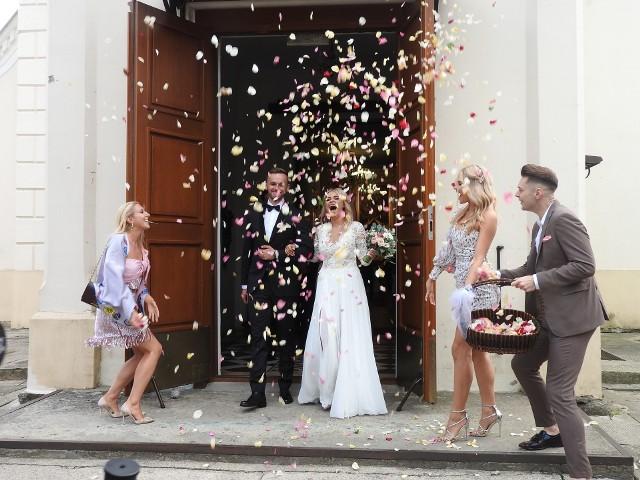 Ślub i wesele Natalii Mancewicz