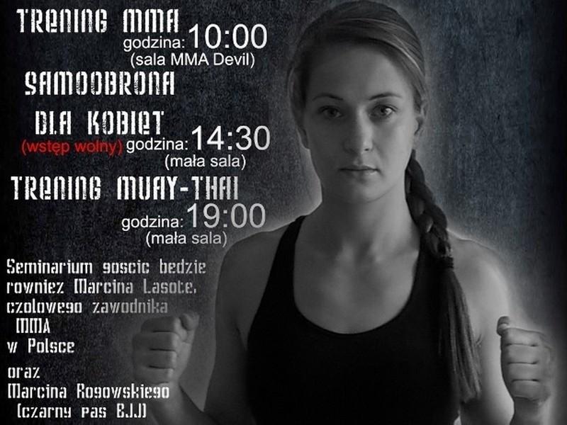 W niedzielę w hali sportowo-widowiskowej w Międzychodzie odbędzie się seminarium poświęcone sztukom walki.
