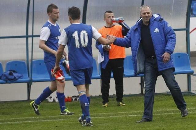 Trener Krzysztof Łętocha doczekał się pierwszej wygranej w roli trenera Stali.