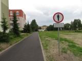 Ciąg komunikacyjny przy OSiR Ustka nie dla pieszych?