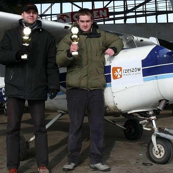 Robert Górecki i Mariusz Nowak: - Lataliśmy samolotem Cessna 152.