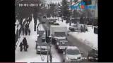 Wypadek przy ul. Matejki w Wyszkowie. Ludzka znieczulica (zobacz film)