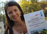 Miss Lata 2011 Anna Smalec odebrała nagrodę (wideo)