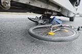 Na ścieżce rowerowej potrąciło go auto! Pękła mu wątroba i zmarł w szpitalu!