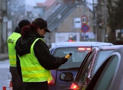W piątek zielonogórska drogówka sprawdzała trzeźwość kierowców jadących ul. Kożuchowską.