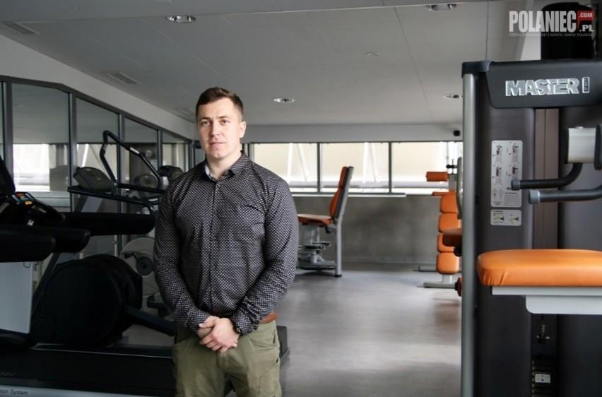 Na treningi zaprasza właściciel siłowni Mariusz Podgórski