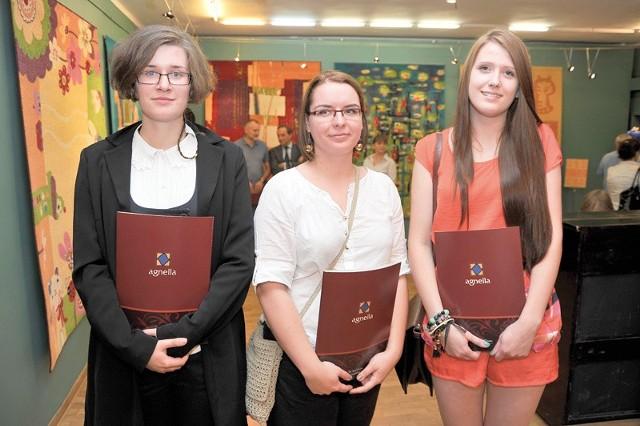 Małgorzata Piaścik, Ewelina Góra i Gabriela Szymańska (na zdjęciu od prawej).