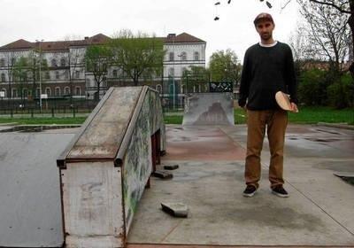 Dominik Dudek złożył projekt budowy nowego skateparku. Plac powstanie. FOT. MAŁGORZATA WIĘCEK-CEBULA