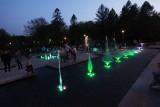 Magiczny pokaz fontanny w Parku Lotników Polskich [ZDJĘCIA]