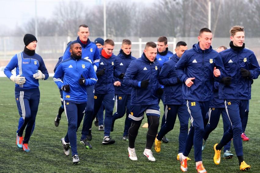 Piłkarze Arki Gdynia w dobrej formie po urlopach
