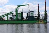 Usypują wyspy na pogłębianym torze wodnym na Zalewie Szczecińskim. Zobacz zdjęcia