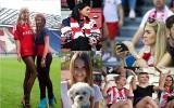 Piękne i zagorzałe kibicki na krakowskich stadionach [ZDJĘCIA]