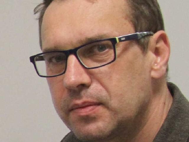 Michał Biskup, pełniący obowiązki kierownika Kliniki Okulistyki w Szpitalu Zespolonym