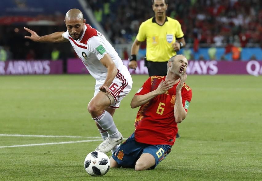 Hiszpania - Maroko 2:2