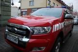 Nowy ford ranger strażaków OSP Żory. To jedyny tego typu wóz w powiecie ZDJĘCIA