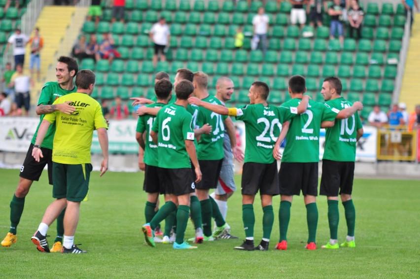 Piłkarze Stali Stalowa Wola grają w sobotę z GKS-em Tychy.