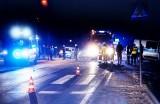 Nocny dramat pod Grybowem. Mężczyzna śmiertelnie potrącony przez auto
