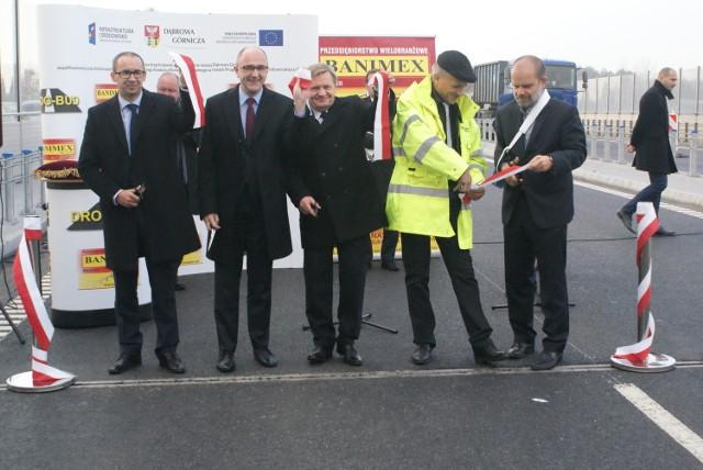 Droga krajowa nr 94 w Dąbrowie Górniczej została oficjalnie otwarta po 16-miesięcznym remoncie
