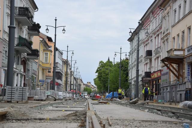 Przebudowa ulic: Chrobrego i Mieszka rozpoczęła się w maju 2020 r.