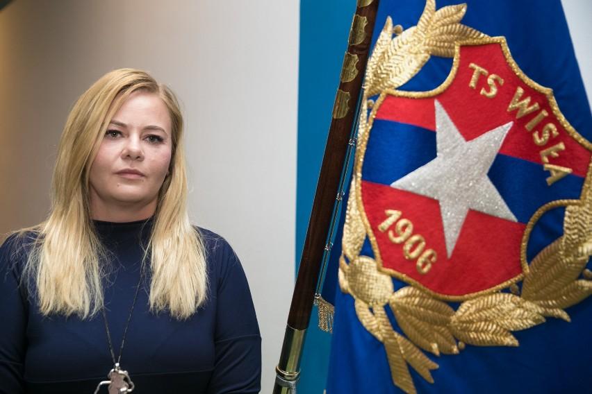 Nowym prezesem TS Wisła została Marzena Sarapata