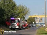 Pożary w Gdańsku. 23.09.2020 r. Paliły się zbiornik siarki oraz pustostan. Nie ma poszkodowanych