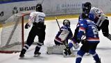 Hokej. UKH Unia Oświęcim pokonała Niedźwiadki Sanok, aktualnego mistrza Polski juniorów młodszych. Początek kwalifikacji do OOM [ZDJĘCIA]
