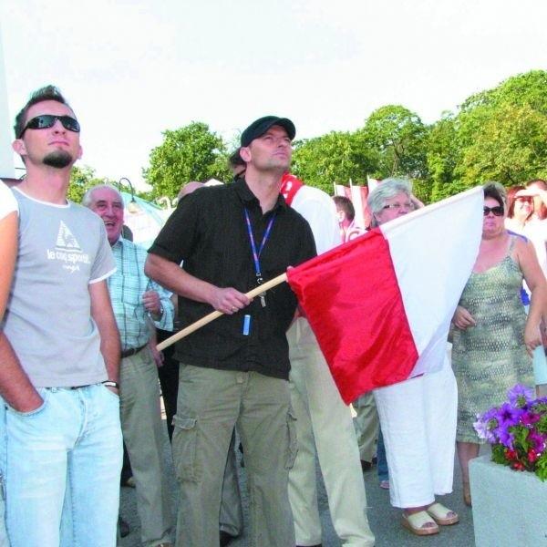 Augustowianie trzymali kciuki za kajakarzy. Choć tym razem medalu nie zdobyli, jednak i tak promowali swoje rodzinne miasto.
