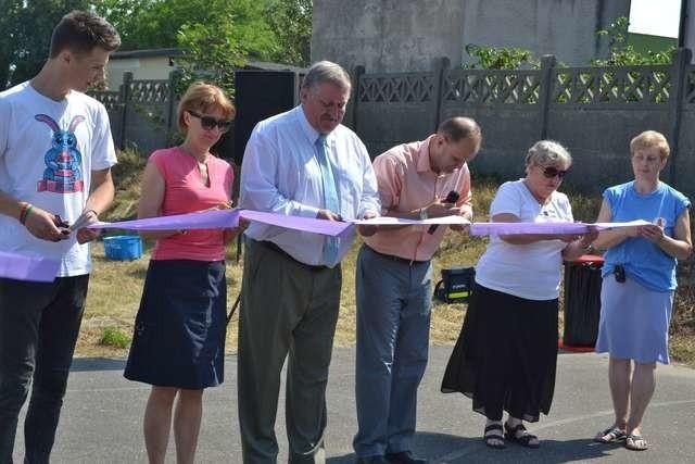Uroczyste otwarcie skateparku przy Publicznym Gimnazjum nr 1 w Lipnie