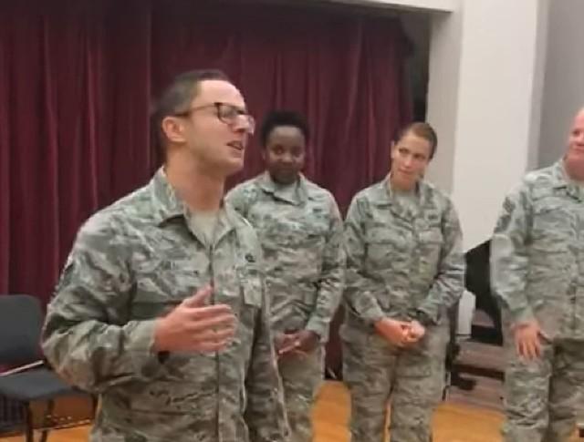 Amerykański zespół z The United States Air Force Band
