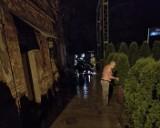 Nawałnica w Kalwarii Zebrzydowskiej i Brodach. Trzeba było ewakuować mieszkańców [ZDJĘCIA]  AKTUALIZACJA