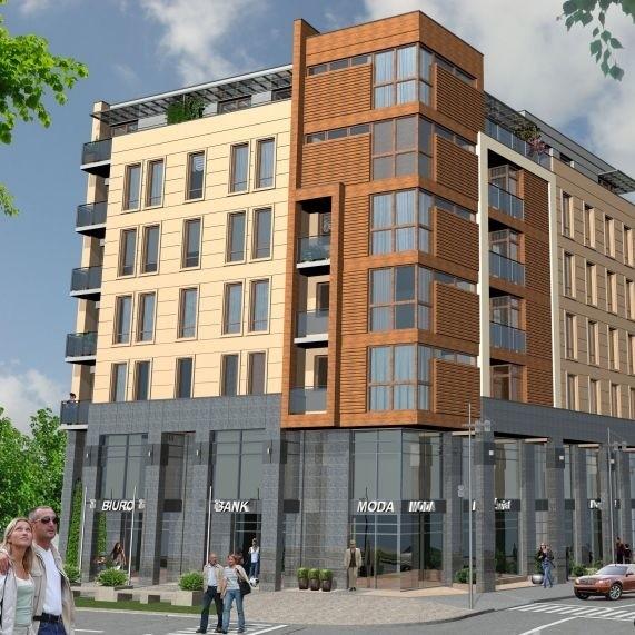 Nowy budynek mieszkalno-usługowy przy ulicy Nowy Świat ma być gotowy w drugim kwartale 2010 roku