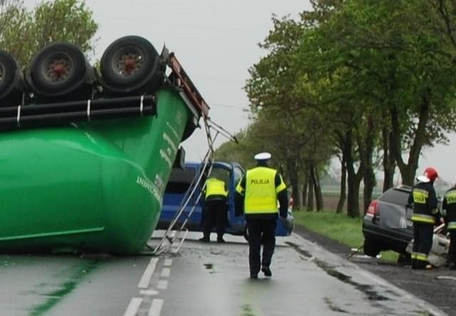 Wypadek w Środzie Wielkopolskiej