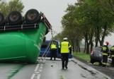 Wypadek w Środzie Wielkopolskiej: Na krajowej 11 zginęła jedna osoba