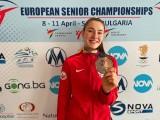 Aleksandra Kowalczuk z AZS Poznań ze srebrnym medalem ME w taekwondo. Nasza olimpijka wraca po kontuzji do wielkiej formy