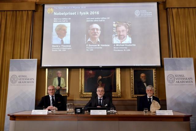 Nagroda Nobla z fizyki dla 3 naukowców