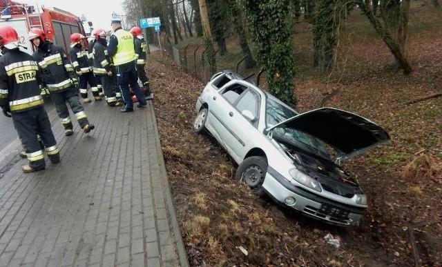 Wypadek w Jarogniewicach w powiecie kościańskim