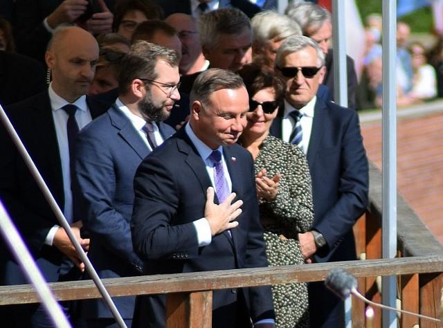 Dożynki Jasnogórskie. Gościem był prezydent Andrzej DudaZobacz kolejne zdjęcia. Przesuwaj zdjęcia w prawo - naciśnij strzałkę lub przycisk NASTĘPNE